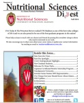 Nutritional Sciences Digest Fall 2014